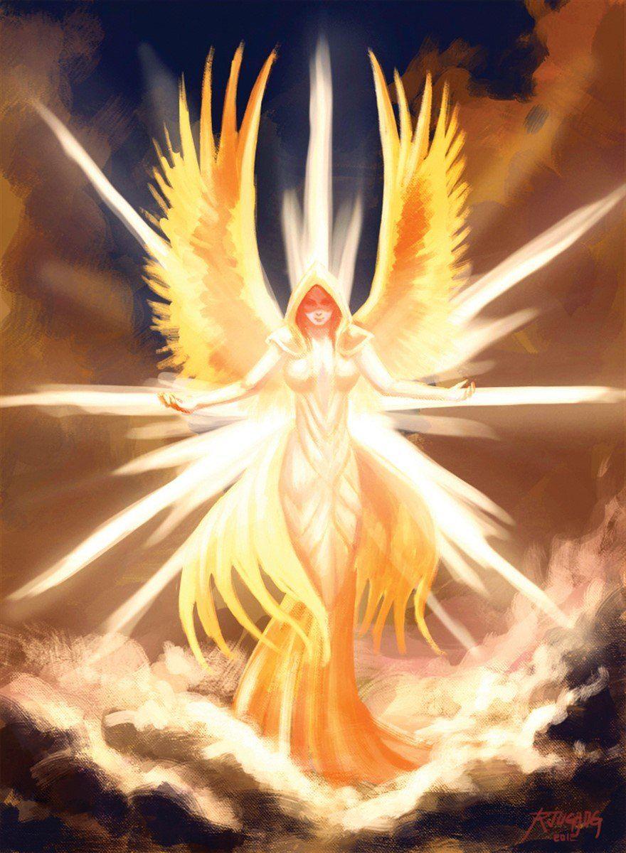 Photo of Angelic Apparition Art – 30W X 40H Canvas Print