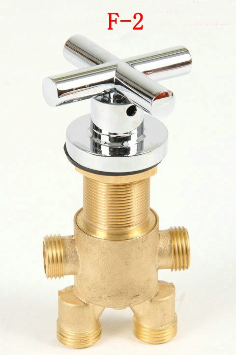 Shower room mixing valve, Brass bathtub set of taps for hot and cold ...