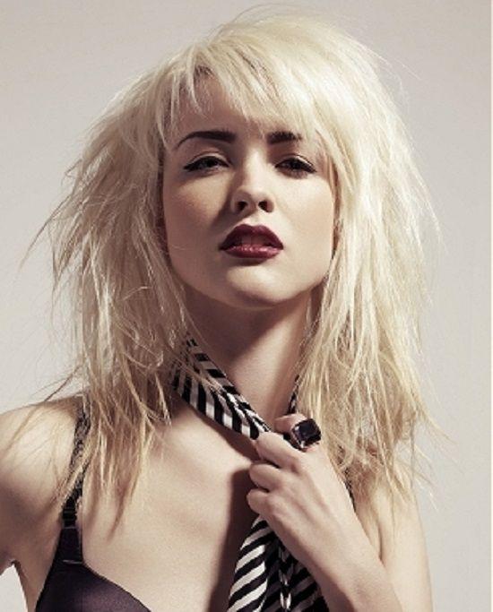 Female Rocker Hairstyles Women Hairstyles Ideas Rocker Hair Rock Hairstyles Messy Hairstyles