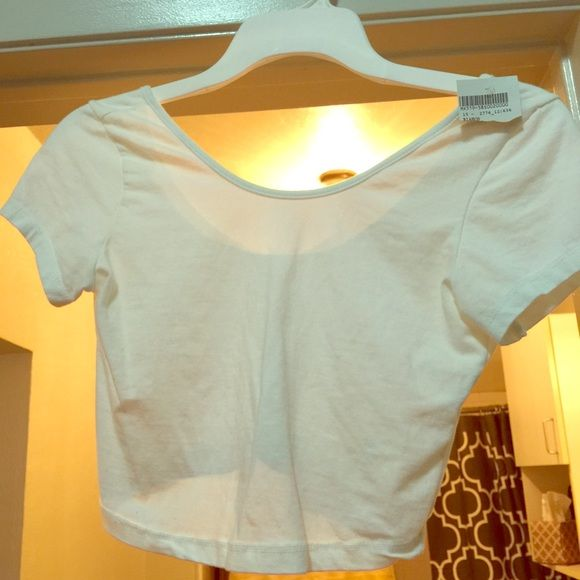 NWT Brandy crop top NWT perfect condition! Brandy Melville Tops Crop Tops