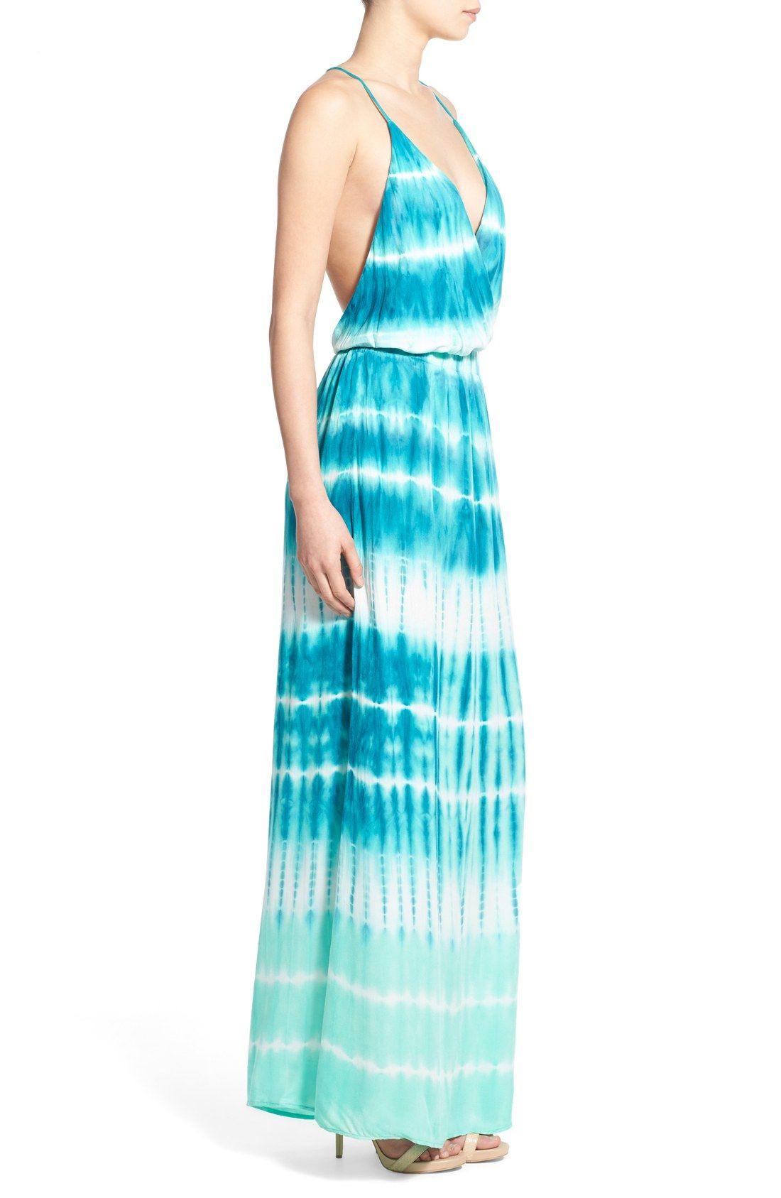 Young, Fabulous & Broke \'Nala\' Tie Dye Maxi Dress ...