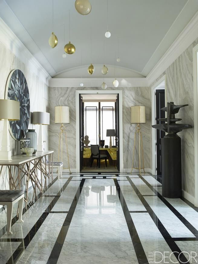 Luxury Apartment Foyer : Foyer jean louis deniot new luxury apartment in paris