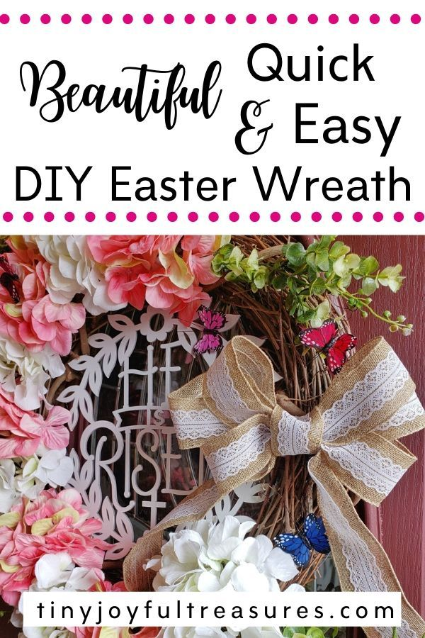 Photo of Easy DIY Easter Wreath Tutorial