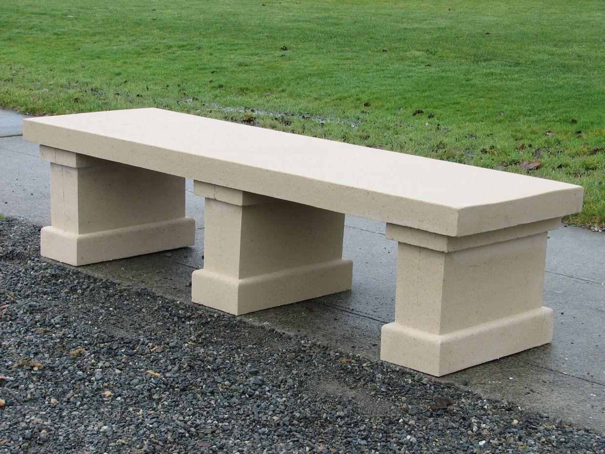 Stunning Outdoor Concrete Bench Design Stone Garden Bench Concrete Garden Concrete Garden Bench