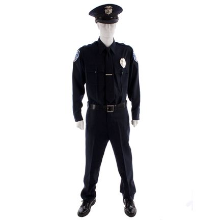21 Jump Street Greg Jenko Channing Tatum Police Academy Uniform Available For Sale On Our Website Www Thegold Academy Uniforms Police Academy Mens Costumes