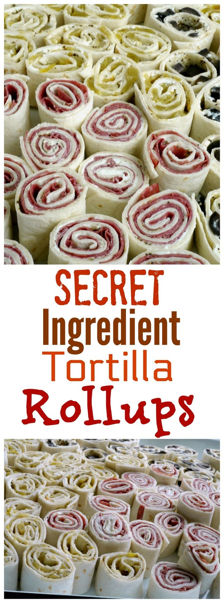 Photo of Secret Ingredient Tortilla Rollups