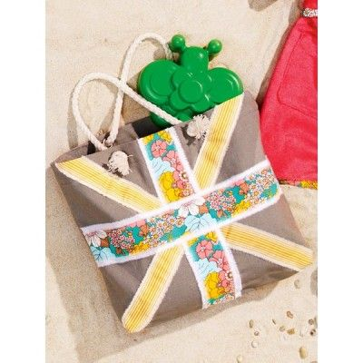 Small Tote Bag (Free Sewing Pattern)   Free Sewing Projects ...