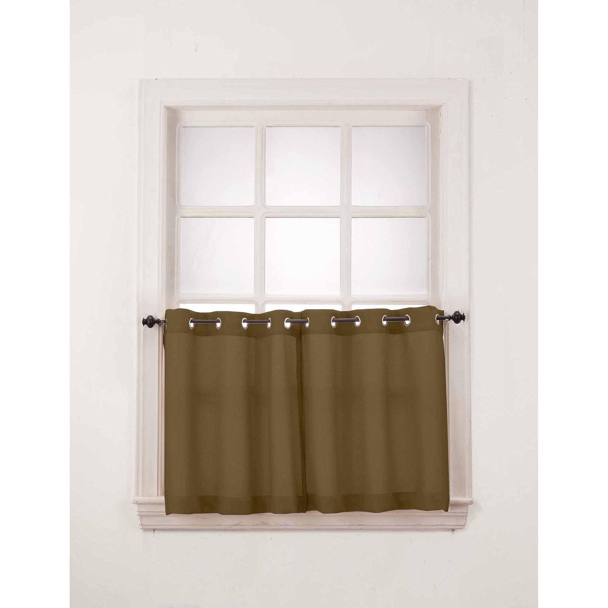 Montego Grommet Kitchen Curtains