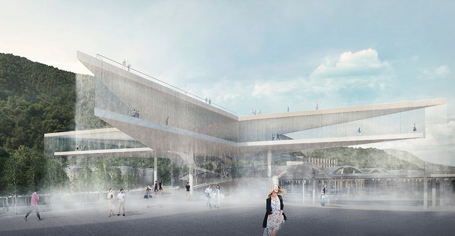 Gallery of BIG, MVRDV, Snøhetta, aMDL Unveil Proposals for San Pellegrino Bottling Plant Competition - 9