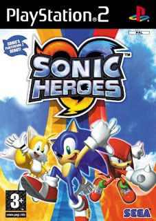 Sonic Heroes PS2 Iso free download For PCSX2 Pc and mobile ,Sonic