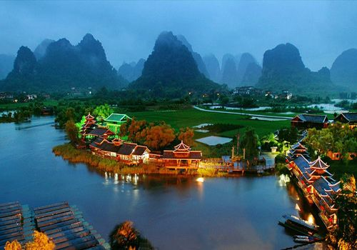 """Shangri La River China- Known under the name of """"Shangri"""