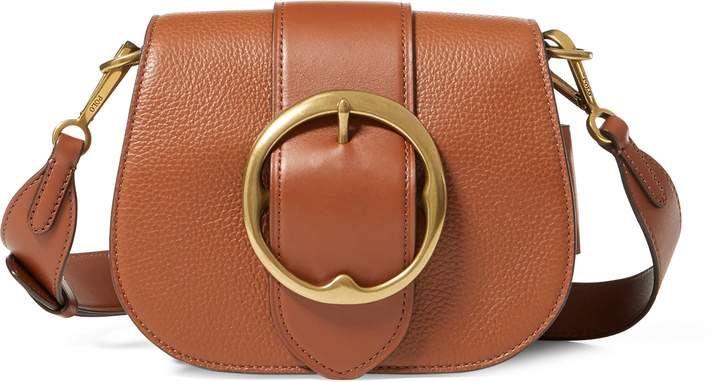 Ralph Lauren Pebbled Leather Lennox Bag  7904e2111776a