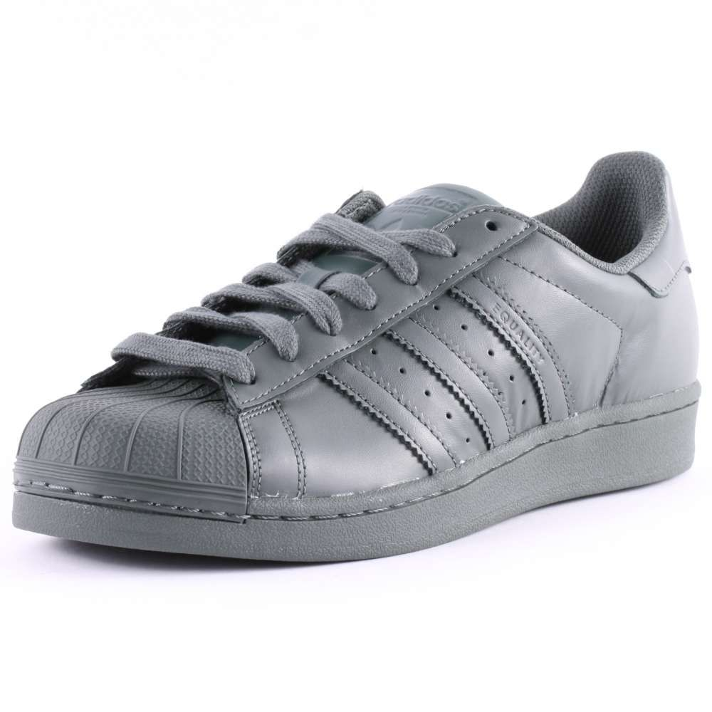 Superstar Adidas Grey And White