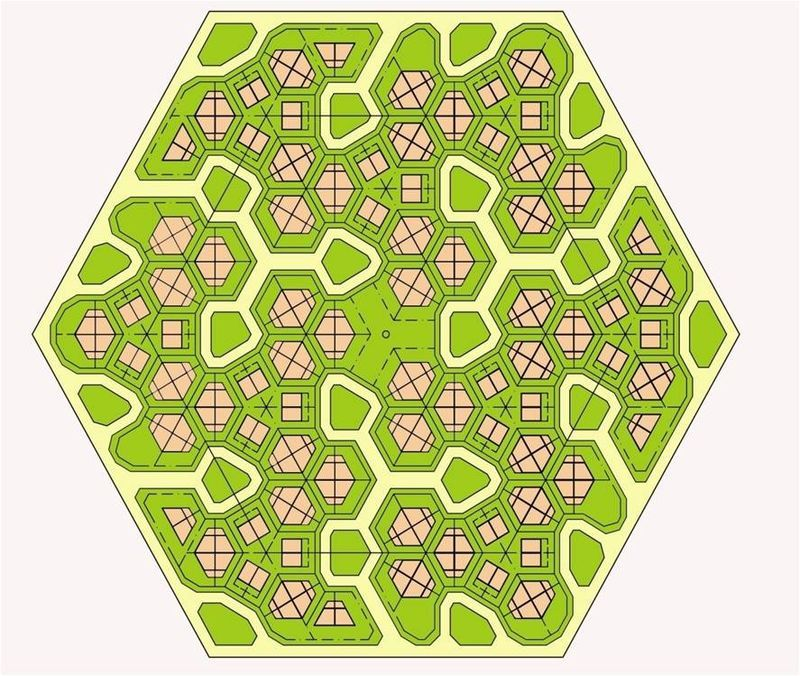 a honeycomb neighbourhood