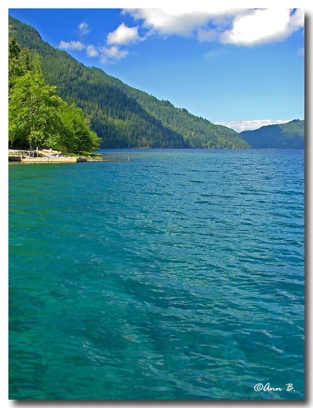 Lake Crescent, WA - Been there!the water is super clear and the lake is  really deep.