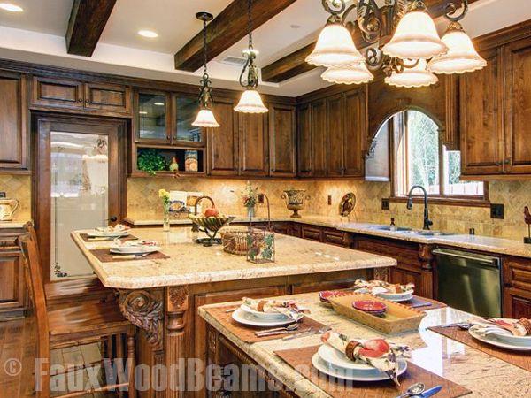 Kitchen Design Gallery Faux Wood Beam Kitchen Photos