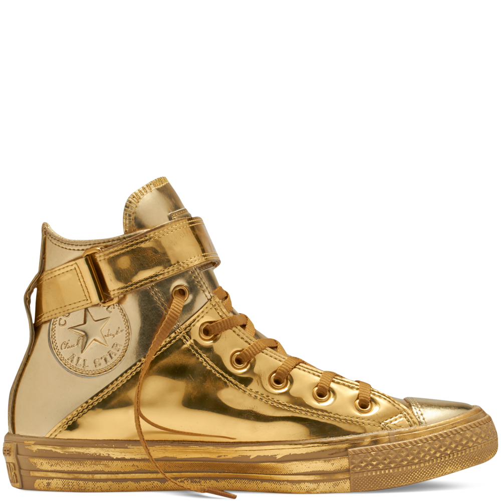 30a6db26a93e26 Chuck Taylor All Star Brea Metallic Golden Haze Gold Gold golden  haze gold gold