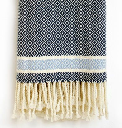 The Cwlwm Throw A beautiful super soft throw, hand-woven on a