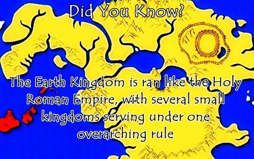 And Just Like The Holy Roman Empire The Earth Kingdom Is Not Holy - Avatar the last airbender us map