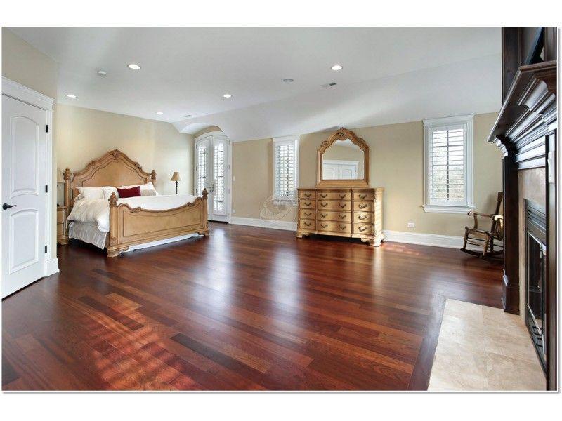 Santos Mahogany Varied Plank Color Gorgeous Hard Wood Flooring