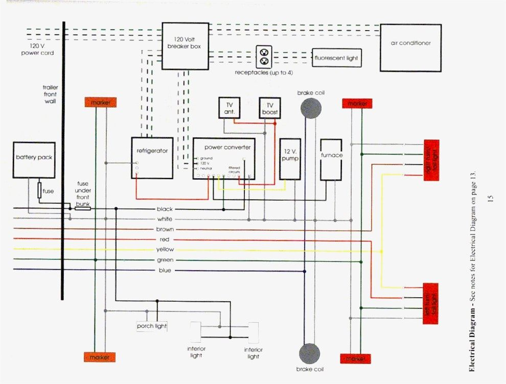 diagram teardrop trailer interior wiring diagram full