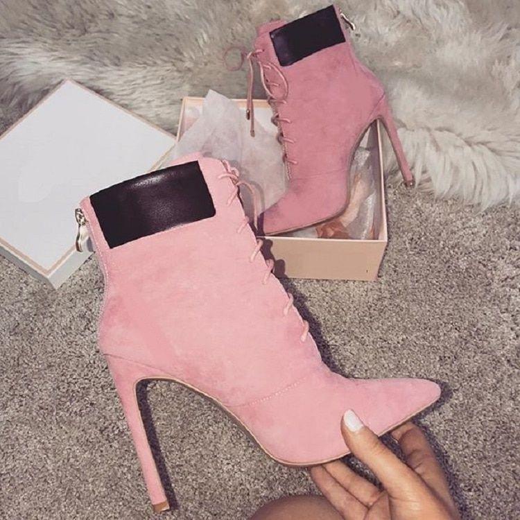 rosa o Elyken elegantes de camel muy Botines 4dxF4