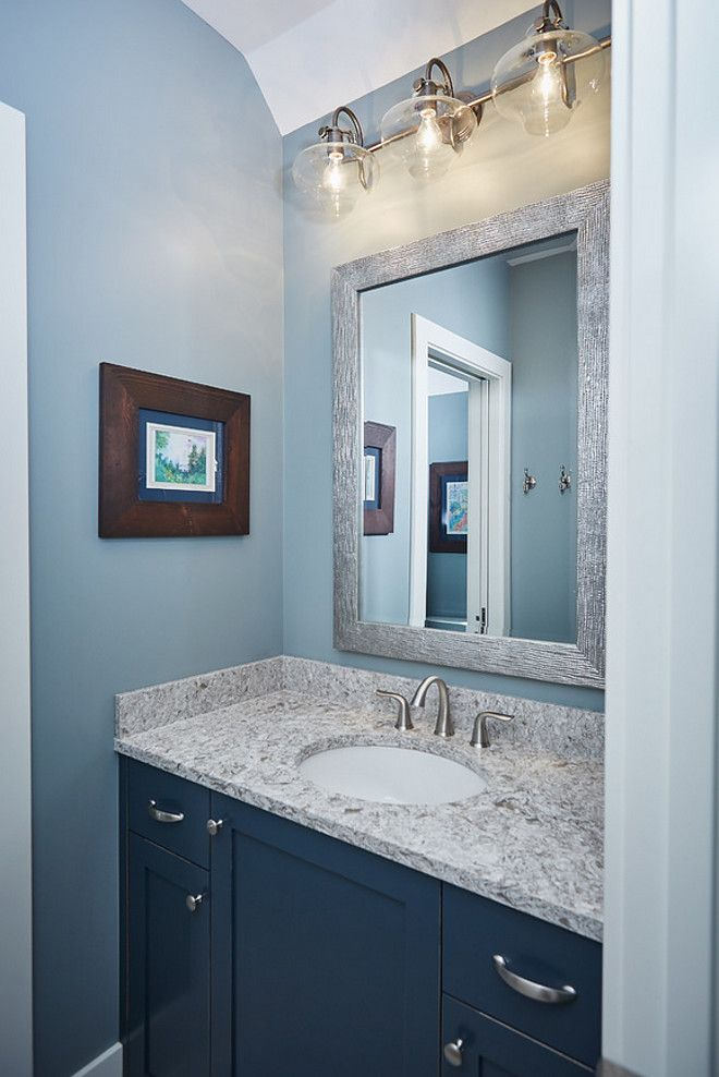 Bathroom Vanity Paint Color Is Benjamin Moore Deep Royal