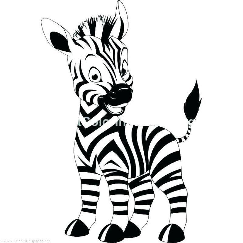 Zebra And Giraffe Coloring Pages Giraffe Coloring Pages Zebra Coloring Pages Unicorn Coloring Pages