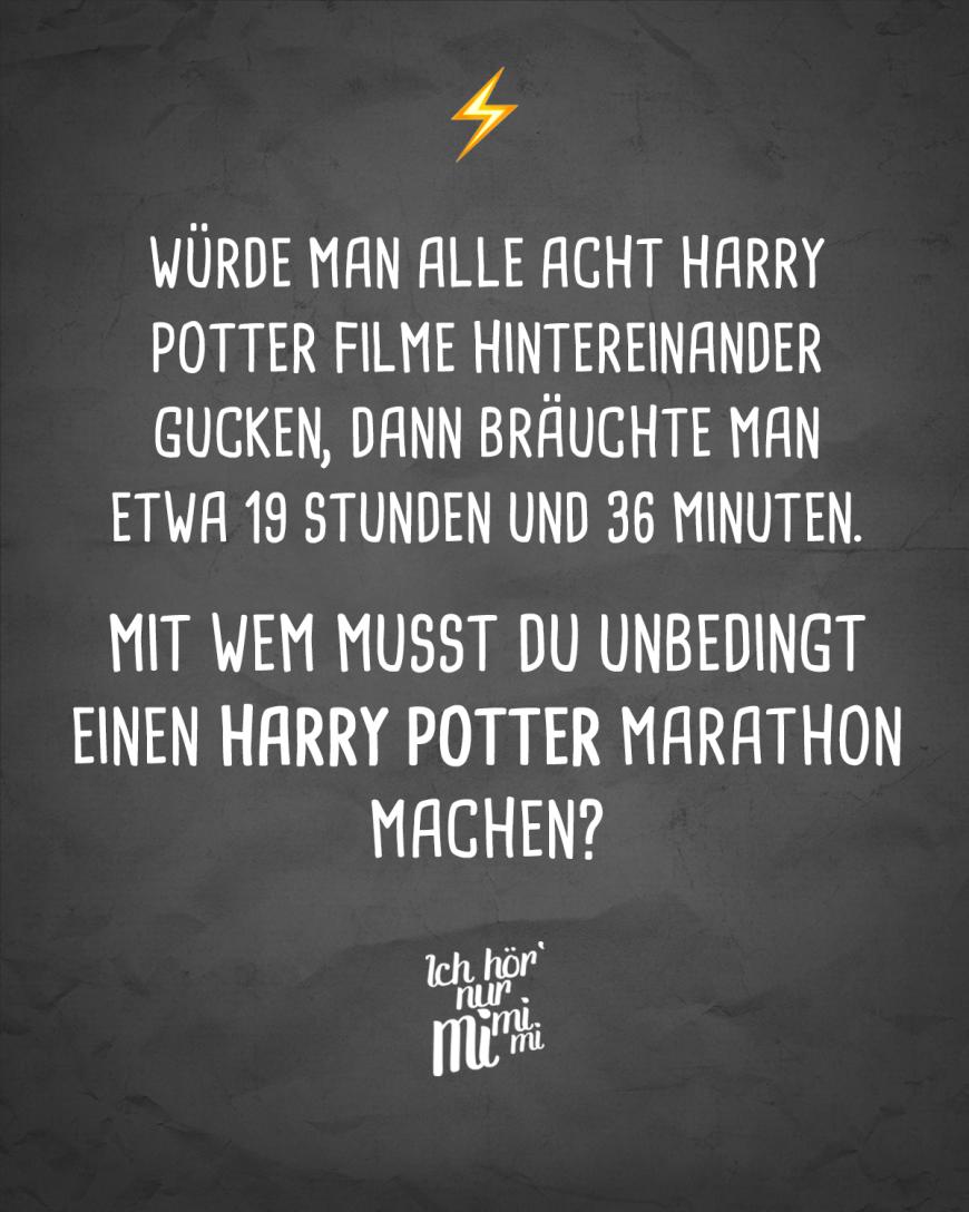 Ich Hor Nur Mimimi Harry Potter Film Visual Statements Spruche Zitate