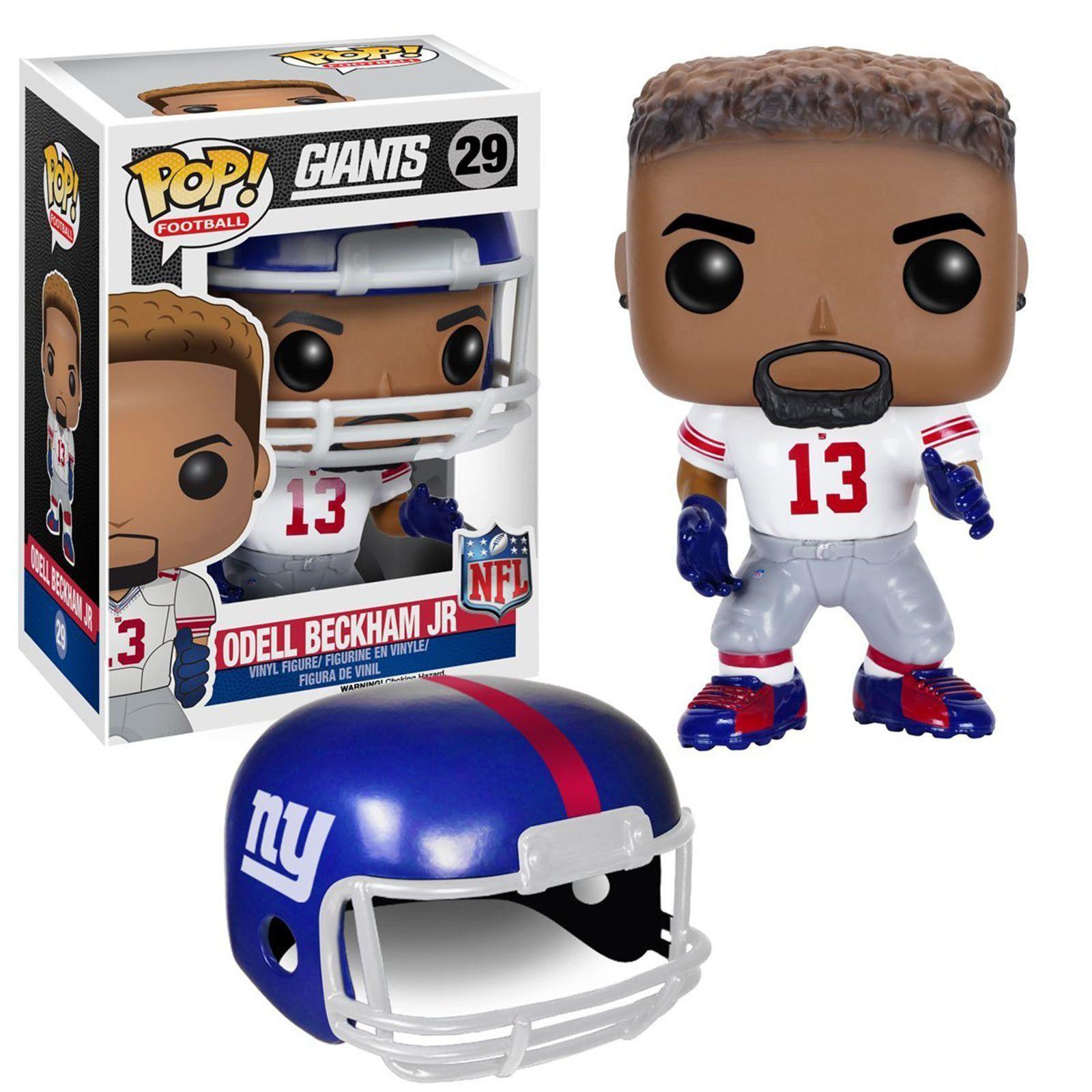 NFL New York Giants POP Odell Beckham Jr. Away Jersey