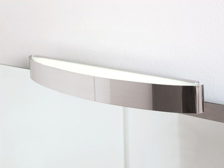 Applique bagno a led spicchio by regia design bruna rapisarda