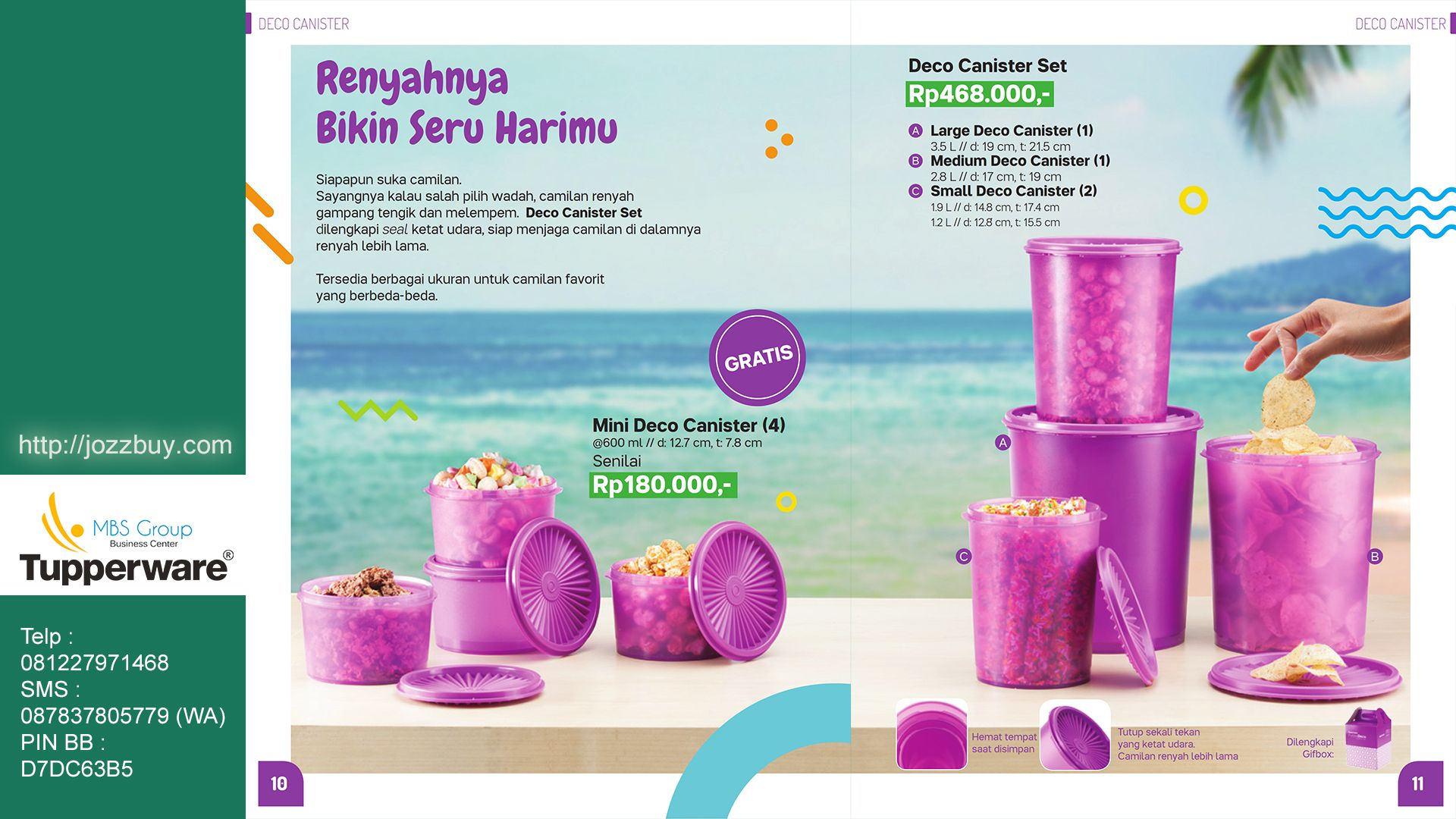 Tupperware Promo September 2019 Indonesia