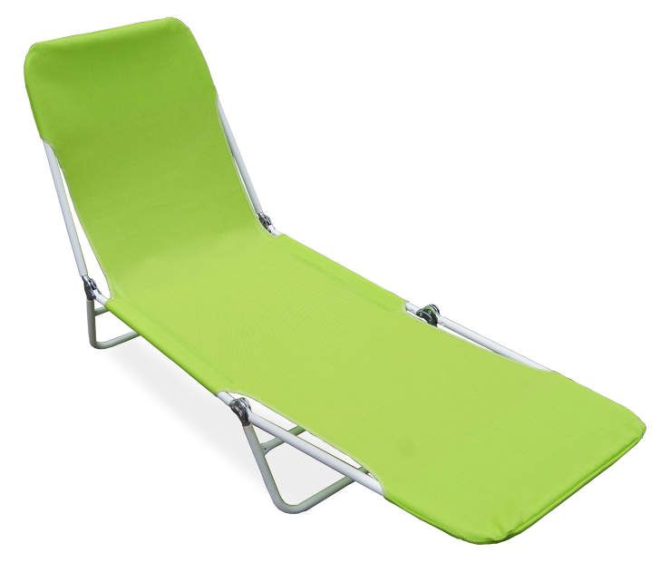 Wilson Fisher Green Sling Folding Lounger Big Lots Folding Lounge Chair Folding Beach Lounge Chair Lounge Chair Outdoor