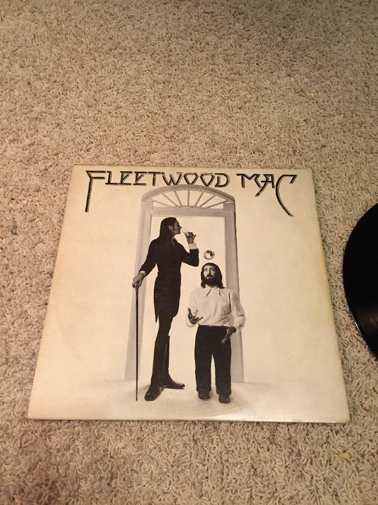 "FLEETWOOD MAC s/t self titled US LP Rock, 12"" VG FREE"