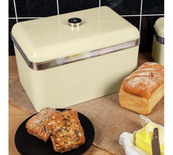 Buy Swan Breadbin Cream At Argoscouk Your Online Shop