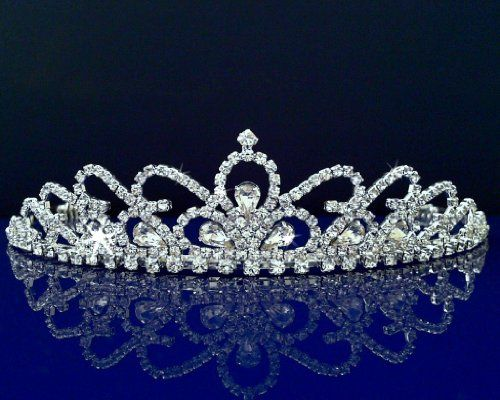 SC Bridal Wedding Tiara Crown With Crystal Arches 30598From #SparklyCrystal List Price: $29.99Price: $25.00
