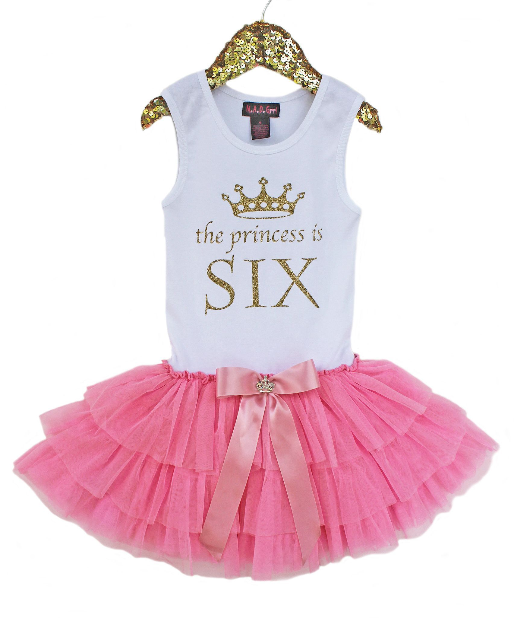 Birthday Number Princess Tutu Dress | Tutus, Estilo niños y ...