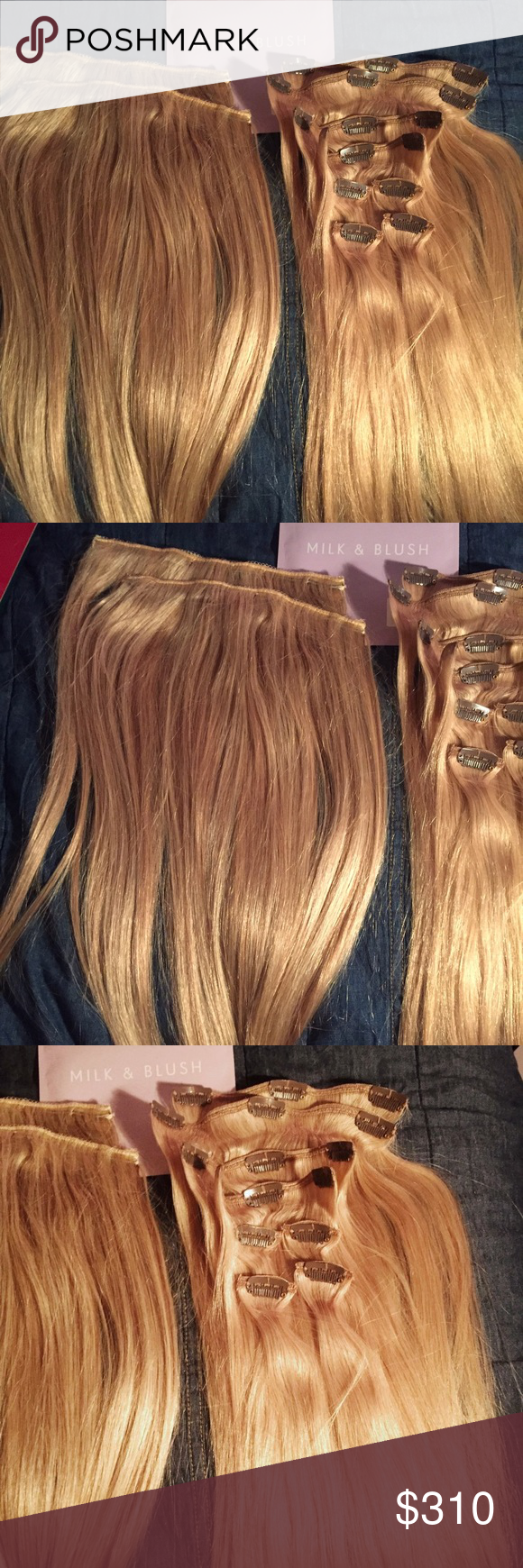 Dirty Looks Full Custom Set Of Hair Extensions New Never Used In