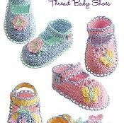Delilah Pearl Collection Baby Shoes - via @Craftsy