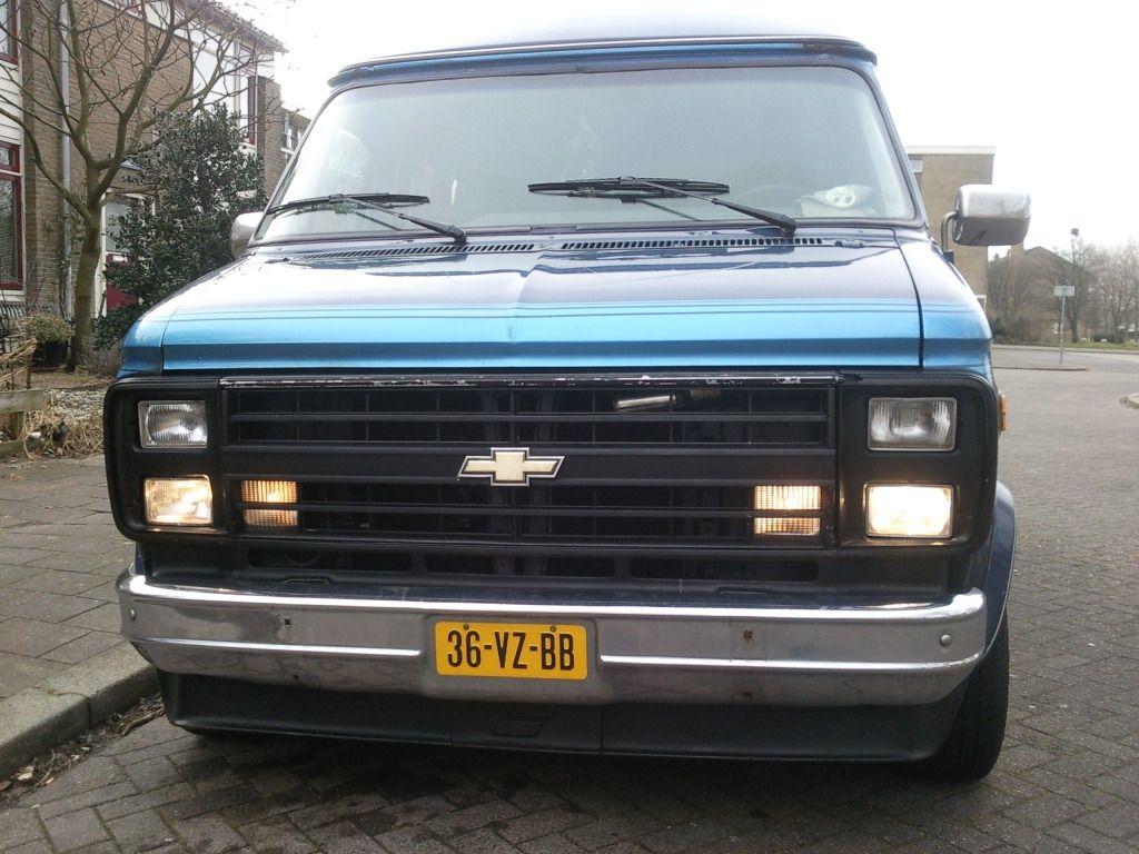 Grill Zwart Chevy Van Gmc Trucks Chevy