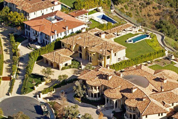 Aerial Views Of Kim Kardashian And Kanye West S New Home