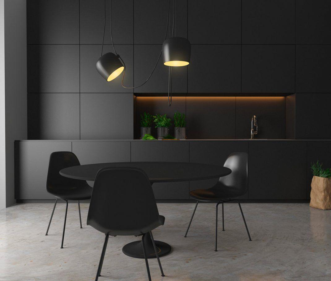 36 cuisines noires reproduire chez vous d coration d 39 int rieure cuisine noire cuisine - Belles cuisines contemporaines ...