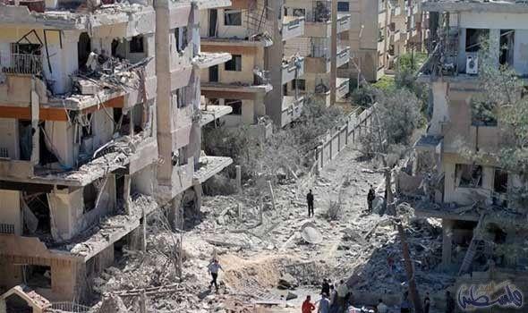 مقتل وجرح 26 مواطنًا جرّاء استهداف حي…: أدَّت غارات الطيران الحربي السوري على حي الوعر المحاصر، مقتل وجرح أكثر من 26 مواطنًا، بالتزامن مع…