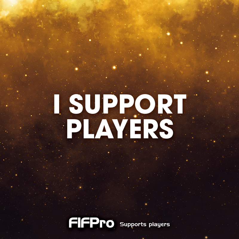 I support Players WorldCup