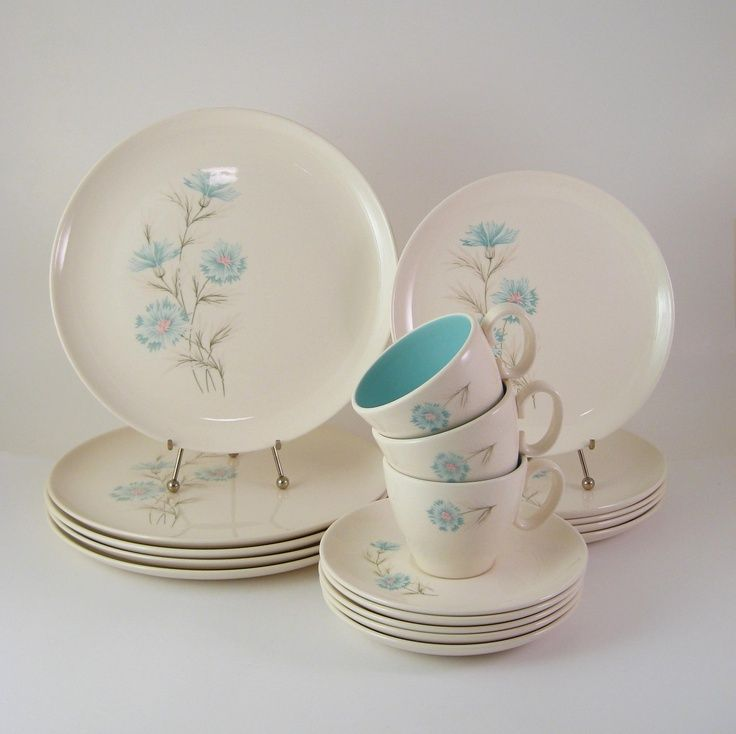 Mid Century Taylor Smith Taylor China Ever Yours