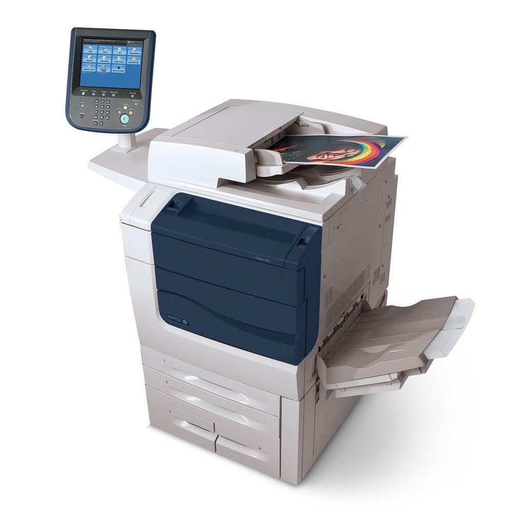 Xerox Color 550 Laser Production Printer Xerox Printer Print