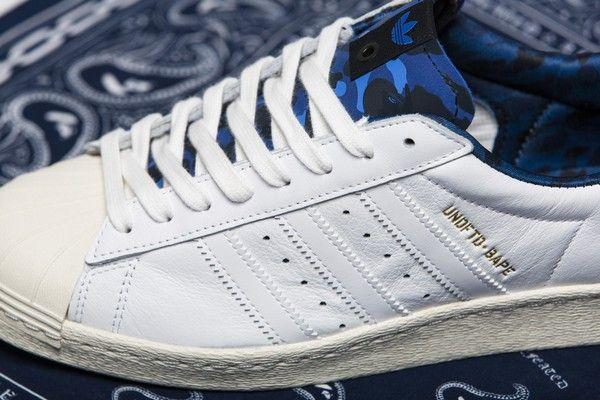 adidas Consortium x Undefeated x BAPE Superstar 80s #BAPE