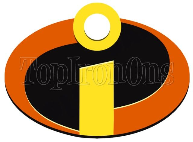 Incredibles Logo Shirt Iron On Transfer 2 Incredibles Logo