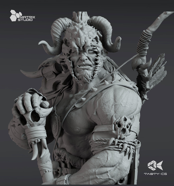 Barbarian | zbrush in 2019 | Sculpture art, Hulk art, Art