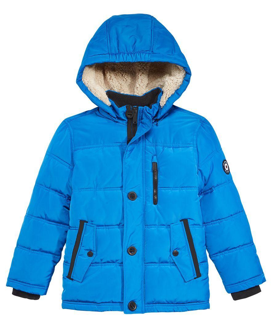 0b120513b Ben Sherman Hooded Puffer Coat